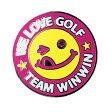 メガマーカー MM-210 WE LOVE GOLF ピンク クリスタル付き WINWIN STYLE【ポイント2倍】【最安値に挑戦】【02P01Oct16】【あす楽】