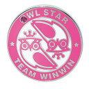 WINWIN STYLE メガマーカー OWL STAR ローズ MM-262【あす楽】