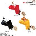 MU SPORTS エムユースポーツ ピンタイプ用パターカバー 703W1526
