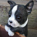 犬の置物 フレンチブルドック ハンギングドッグ 3704-04 いぬ イヌ 動物 オーナメント ガーデン オブジェ 庭 雑貨 ガーデニング インテリア マスコッ...