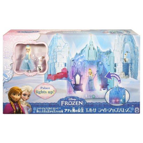 ディズニープリンセス アナと雪の女王 エルサ ライトアップするおもちゃのお城