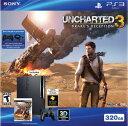 PlayStation3 (320GB) チャコールブラック Uncharted 3 Bundle ( 北米版) 平行