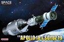 ドラゴン 1/72 アポロ・ソユーズテスト計画 アポロ18号 & ソユーズ宇宙船19号