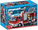 プレイモービル消防車消防士Playmobil Fire En...