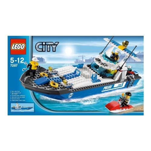 LEGO レゴ シティ ポリス スピードボート 7287