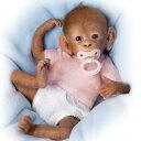 生まれたてのおサルの赤ちゃんをリアルに再現したベビードール・ベビーモンキー 40センチ