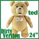 【正規品】 TED テッド 映画 超レア ぬいぐるみ R版-Rated 24インチ 電池交換可能 60センチ 実物大 テデ