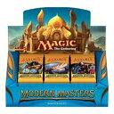 マジック:ザ ギャザリング モダンマスターズ ブースターパック 英語版 BOX