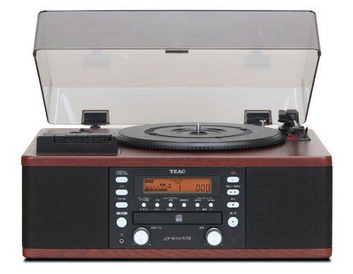 TEACティアックCDレコーダーターンテーブル&カセットプレイヤー付きLP-R550USB-WA(ウ
