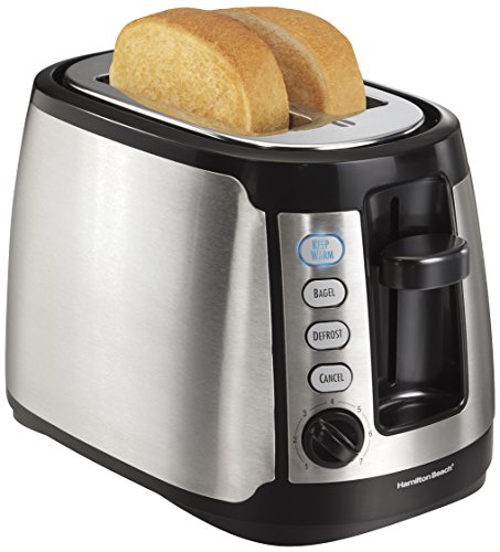 Hamilton Beach 22811 Keep オンライン Warm 2-Slice Toaster:ワールドセレクトショップ