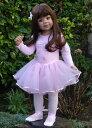 【マスターピースドール】Sabrina Brunette 髪 茶色の目 Monika Levenig 約86cm Jointed D/幼児の人形