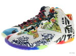 "NIKE LEBRON XI PREMIUM ""WHAT THE LEBRON"" 650884-400 black lava/silver ice-glxy bl レブロン 10 未使用品"