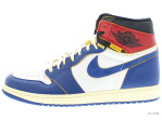 AIR JORDAN 1 RETRO HI NRG / UN bv1300-146 white/stormblue-varsity red エア ジョーダン レトロ ハイ ユニオン UNION LA 未使用品
