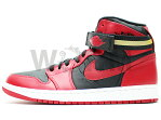 AIR JORDAN 1 HIGH STRAP 342132-002 black/gym red-white エア ジョーダン 1 未使用品