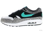 "NIKE AIR MAX 1 PREMIUM RETRO ""ATMOS"" 908366-001 medium grey/clear jade-black エア マックス 未使用品"