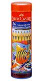 ファーバーカステル「水彩色鉛筆 丸缶 36色セット(TFC-115936)」