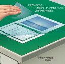 コクヨ デスクマット軟質 非転写 下敷き付き 600x450mm マ-400NG
