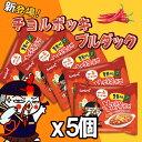 ★新商品★チョルポッキ ブルダック炒め麺 140g X 5個...