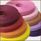 手芸用クラフトテープ紙バンド(クラフトバンド・クラフトテープ)10m 「ウォーム・ピンク系」 《注》ハマナカエコクラフトではありません