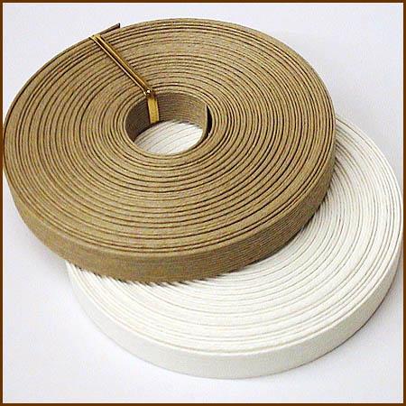 紙バンド(クラフトバンド・クラフトテープ)クラフト・ホワイト 10m 《注》ハマナカエコク…...:wrapfun:10000156