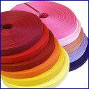 紙バンド(クラフトバンド・クラフトテープ)30m巻 ファインカラー「ウォーム系&ピンク系」 《注》ハ