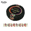 【ポイント10倍!】ロールシール Pavilio/パビリオ レーステープ ブレスレット バブル BRA-02-BU(15mm×10m)