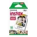 【FUJI FILM/フジフィルム】チェキ用フィルム10枚 インスタントカラーフィルム instax mini