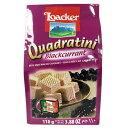 輸入菓子 ローカー クアドラティーニ(クワドラティーニ)ウエハース ブラックカラント(110g) 10P03Dec16