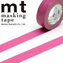 マスキングテープ mt カモ井加工紙mt1P 無地ワイン (15mmx10m)MT01P195・1巻