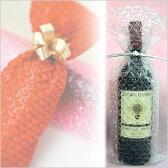 【はぁとぷち/ハートプチ】ワインバッグ ワイン1本用 ピュアナチュラル 透明(25枚入り)