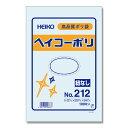透明ビニール袋 HEIKO/シモジマ ヘイコーポリ(ポリ袋) No212(厚0.02mm・100枚入り)