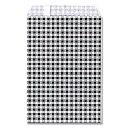紙袋 HEIKO シモジマ R−85 ギンガムミニ 黒
