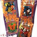 ハロウィンお菓子 ディズニーキャラクター ハロウィン ビスケット4パッグ プレーン