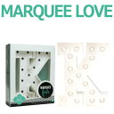 MARQUEE LOVE lettersLEDイニシャルライトオブジェマーキーライト マーキーレター369090 MARQUEE KIT K