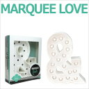 MARQUEE LOVE lettersLEDイニシャルライトオブジェマーキーライト マーキーレター369106 MARQUEE KIT &