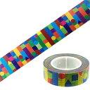 マスキングテープ kitera サクラクレパス KMT-FY(クーピー柄)(15mmx10m) 10P03Dec16