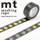 マスキングテープ  mt カモ井加工紙 mt for kids 月 (15mmx7m ミニ紙管)MT01KID024