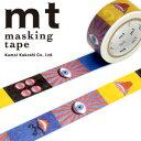 マスキングテープ mt カモ井加工紙 mt × 横尾忠則eye and mouth(20mmx7m)MTYOKO01・1巻