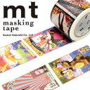 マスキングテープ mt カモ井加工紙 mt × 横尾忠則posters(37mmx7m)MTYOKO02・1巻