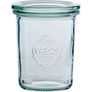 ポイント ウェック キャニスター ガラス瓶 モールドシェイプ