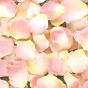 フラワーペタル(アートフラワーのはなびら) FLE-0717 ピンク/クリーム