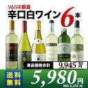 【送料無料】辛口白ワイン6本セット 第49弾 送料無料 白ワインセット 【YDKG-t】【smtb-T】【ギフト・プレゼント対応可】【ギフト ワイン】【ソムリエ】