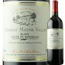 シャトー・メイヌ・ヴァレ プルミエール・コート・ド・ブライ フランス ボルドー 赤ワイン プレゼント ソムリエ