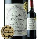 シャルル・ド・ダヴィニャック 2010年 フランス ボルドー 赤ワイン フルボディ 750ml 【Y