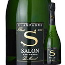 サロン ブラン・ド・ブラン ル・メニル 2002年 サロン フランス シャンパーニュ シャンパン・白 辛口 750ml 【12本単位のご購入で送料無料】【ギフト ワイン】