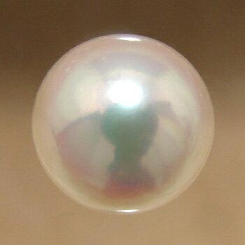 あこや本真珠ルースパールルース パールホワイト系 9.0-9.5mm AAB ラウンド型」[n4]  照りの美しさを実感できる大きく希少なサイズ【真珠】【パール】【アコヤ真珠】しまね