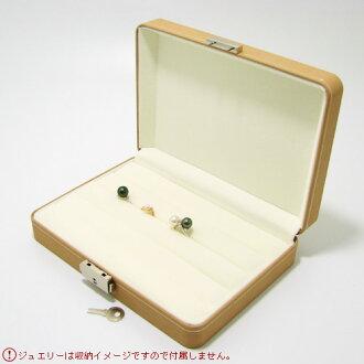 [N3] 環存儲首飾盒 (黑色/米色)