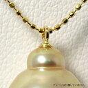 ショッピング真珠 プチペンダント加工 ツキサシ K18 ゴールド [n3](真珠 パール 加工用 パーツ)