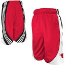 NBA コートショーツ ブルズ(ジュニア) adidas Chicago Bulls Youth Court Short
