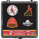 【50%OFFセール】2009 MLB オールスターゲーム オフィシャル ピン セット Pro Specialties Group St. Louis Cardinals 2009 All-Star Game Commemorative Pin Set